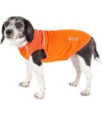 pet life active 'aero-pawlse' quick dry and performance dog tank top t-shirt
