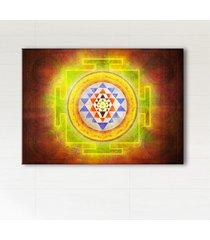 obraz harmonizujący - mandala shri yantra
