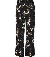 trousers wijde broek zwart rosemunde