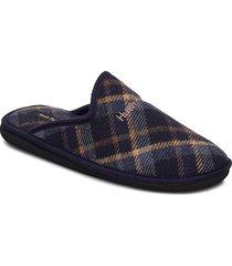 p548 slippers tofflor blå hush puppies