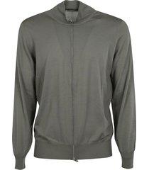 brunello cucinelli plain ribbed jacket
