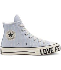 converse zapatillas love fearlessly chuck 70 high top para mujer