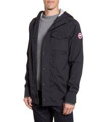 men's canada goose nanaimo windproof/waterproof jacket, size xx-large - black