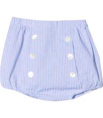 mariella ferrari striped shorts