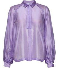 enola sleeve shirt blus långärmad lila designers, remix