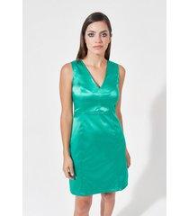 vestido verde mia loreto matrioshka