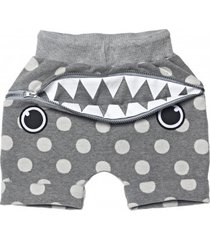 szorty hungry shorts grey dotty