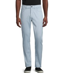 saks fifth avenue men's straight-fit jeans - blue - size 38 32