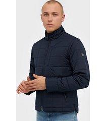 morris crew quilted jacket jackor blue