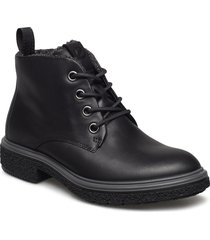 crepetray hybrid w shoes boots ankle boots ankle boots flat heel svart ecco
