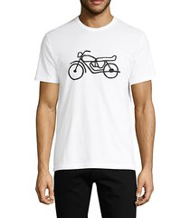 graphic motorcycle cotton tee