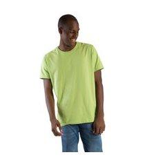 t-shirt básica comfort verde claro verde claro/g