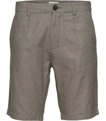 bs boulders tailored shorts chinos shorts grå bruun & stengade