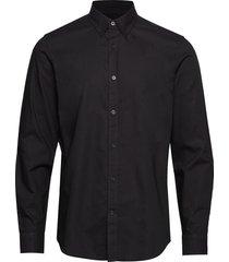 oxford sawsett overhemd casual zwart mads nørgaard