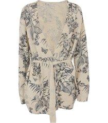 etro floral cardigan