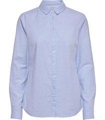 frzaoxford 1 shirt overhemd met lange mouwen blauw fransa