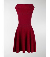 alaïa rome knitted dress