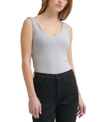 calvin klein jeans v-neck tank bodysuit