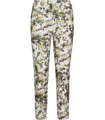 crop leisure trouser slimfit byxor stuprörsbyxor grön gerry weber edition