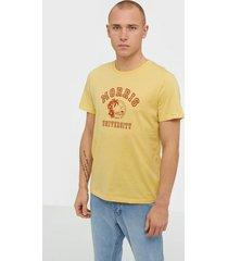 morris tahaa tee t-shirts & linnen yellow