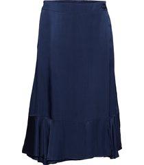 day time knälång kjol blå day birger et mikkelsen