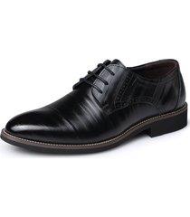 hombres zapatos oxford de charol retro para hombres zapatos de vestir