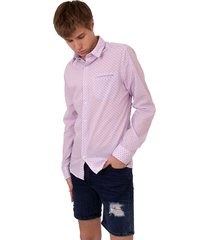 camisas rosa abso auset rayas