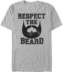 fifth sun men's collegiate beard short sleeve crew t-shirt