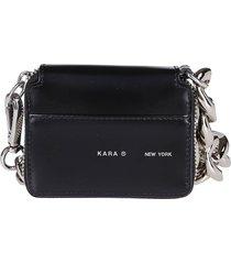 black leather bike wallet