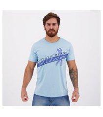 camiseta golf collection authentic brand azul
