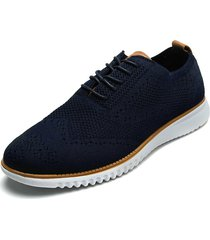 zapato de amarrar azul pierre cardin pc7259-a