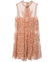 double-layered dress