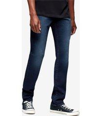 true religion men's geno big t slim fit jeans with back flap pockets