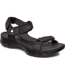 mens go walk outdoors shoes summer shoes sandals svart skechers