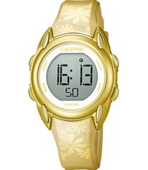 reloj digital crush amarillo calypso