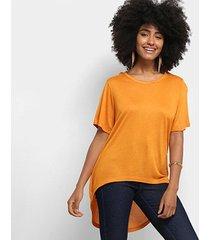 blusa cantão tricot viscose feminina
