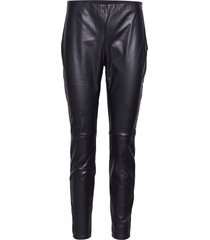 arleen trousers leather leggings/broek zwart twist & tango