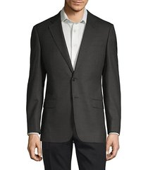 diagonal weave sport jacket