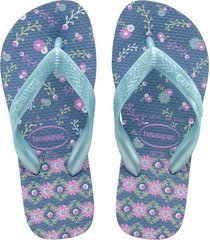 sandalias havaianas  slim nautical  azul  4000052