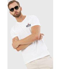 camiseta blanco nautica