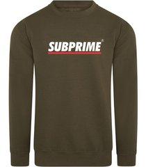 sweater subprime sweater stripe army