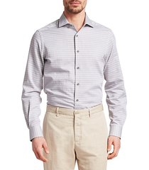 collection thin stripe woven shirt