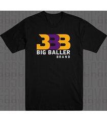 big baller brand zo2 bbb la sho time lonzo ball lakers lavar t shirt