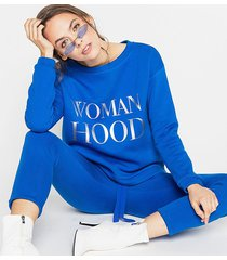 bluza giana blue woman hood
