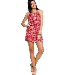 vestido sly wear curto rosa