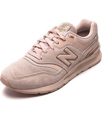 tenis lifestyle rosado new balance classics traditionnels 997 h