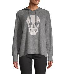 graphic cashmere hoodie