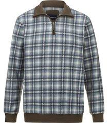 fleece trui babista grijs::blauw