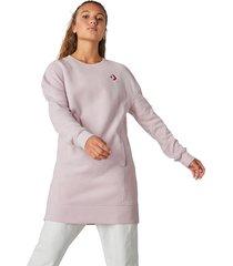 converse vestido polar blocked pink