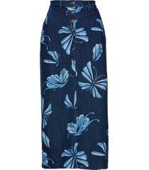 gonna in jeans fantasia (blu) - bpc selection